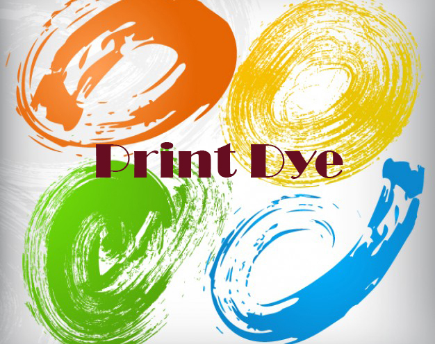 Despre print dye
