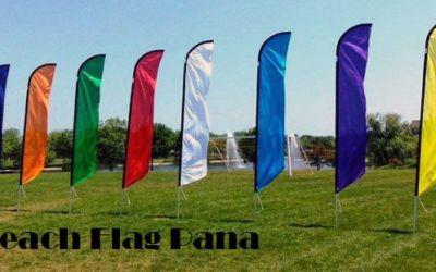 Beach Flag Pană