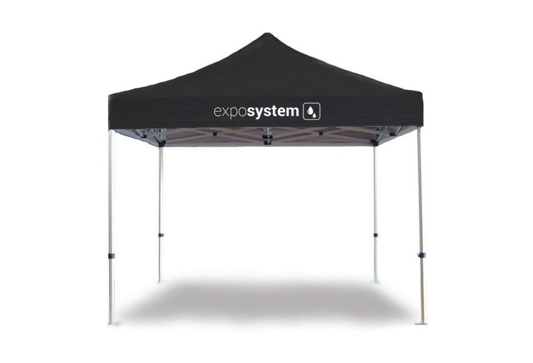 cort personalizat negru 3x3 exposystem