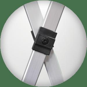 imbinare cort aluminiu