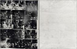 Silver Car Crash / Andy Warhol