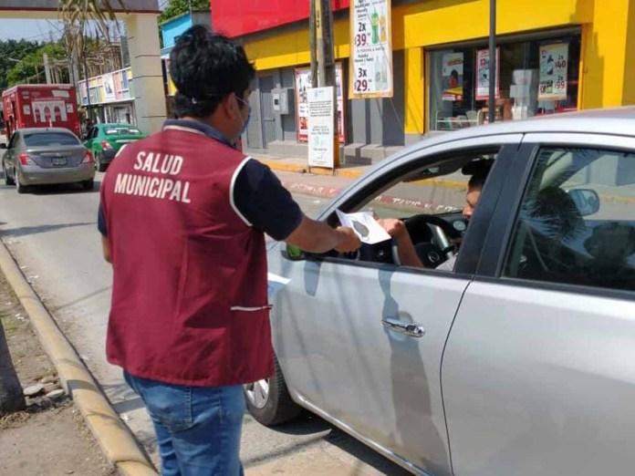 Intensifican en Mapastepec medidas sanitarias ante el COVID-19 en Semana Santa