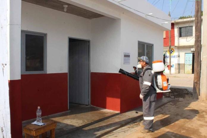 Provich entrega viviendas limpias y desinfectadas