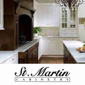 St Martin Cabinetry Logo With İmage