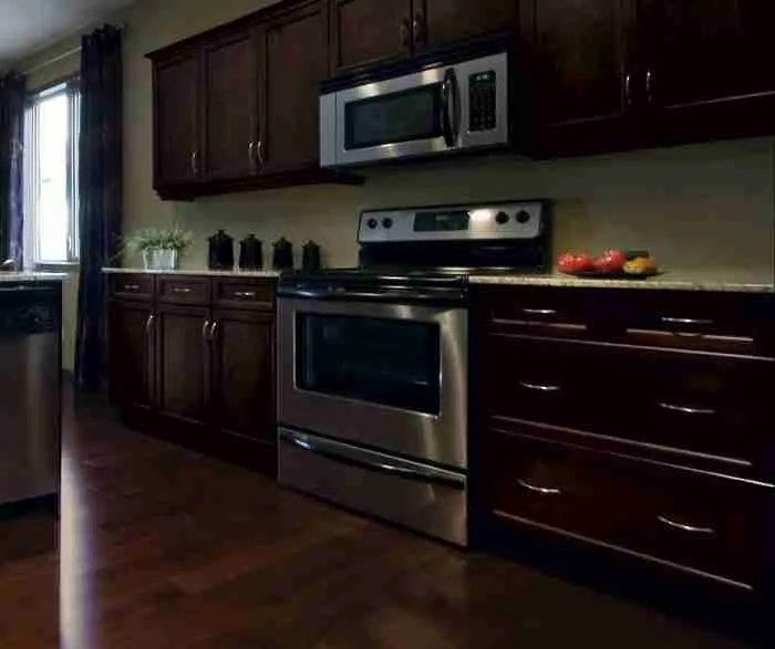 UltraCraft Cabinetry Shaker Kitchen Cabinet in Espresso