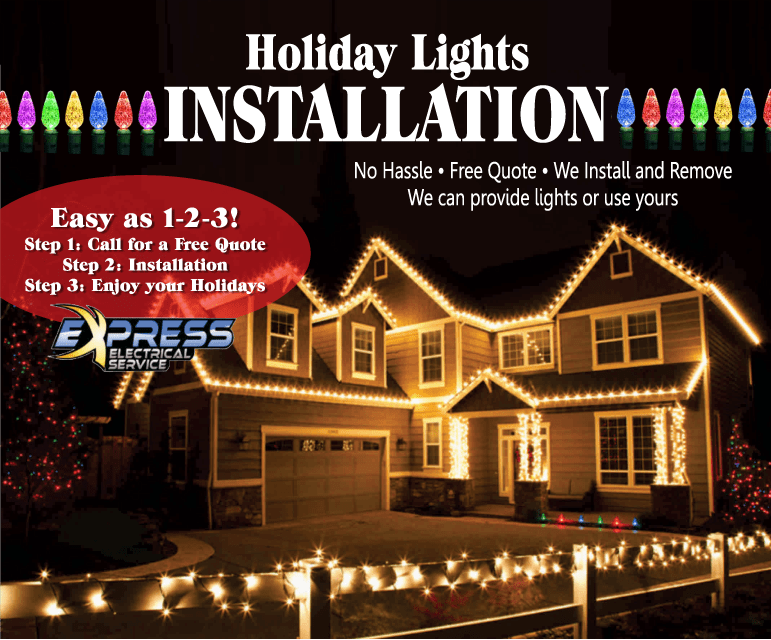 Install Christmas Light - NO LONGER AVAILABLE!