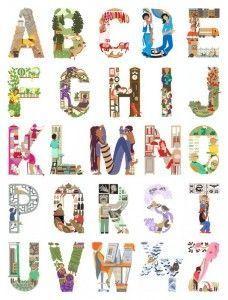alphabet professions