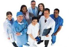 medico enfermeras en frances
