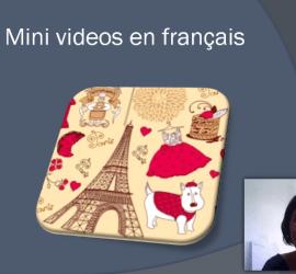 mini videos en frances