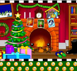 calendario de navidad en frances