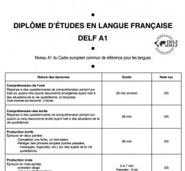 certificado de frances DELF