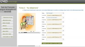 test de frances gratis online