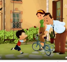 dibujo animado subtitulado en frances le petit nicolas le vélo