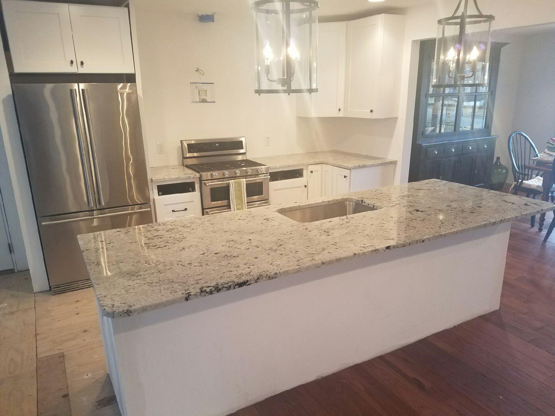 White Kitchen Countertop Options
