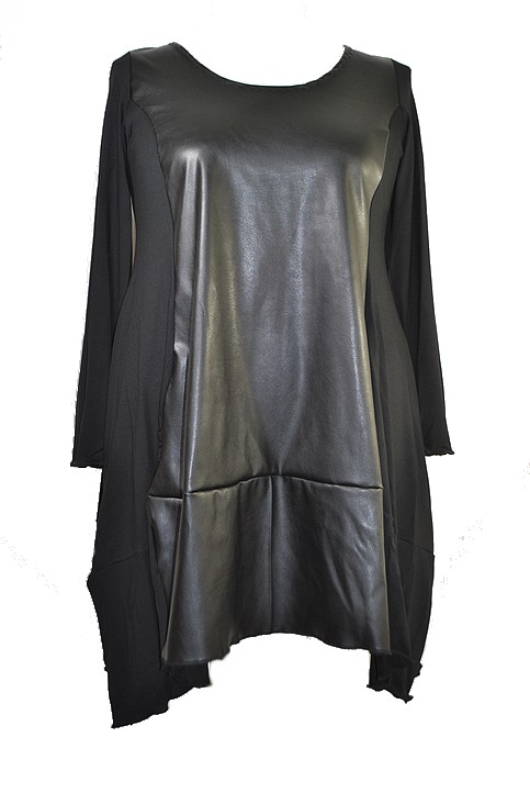 masal-perisi-shirt-lidia-zwart-leer