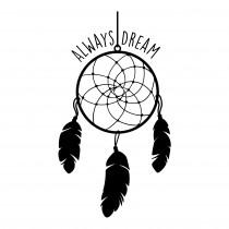 always_dream_muursticker