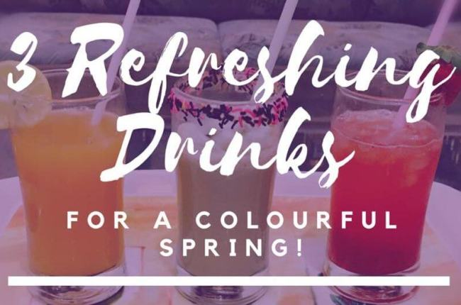 refreshing-drinks-holi-colourful-spring