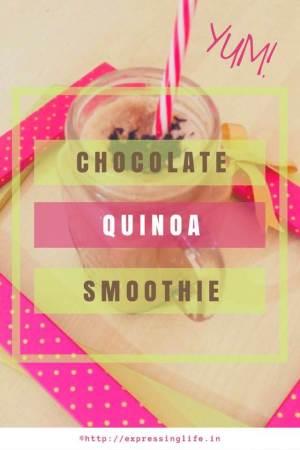 Chocolate Quinoa Smoothie Recipe - A Healthy Breakfast Alternative   Expressing Life