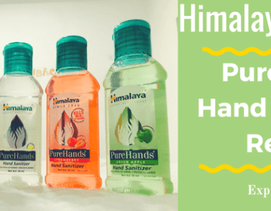 Product Review: Himalaya Wellness PureHands Hand Sanitizer Review | Expressing Life