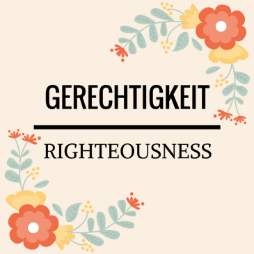 Righteousness – Titus 3:5