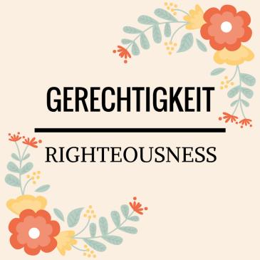 Righteousness – Titus 3:5