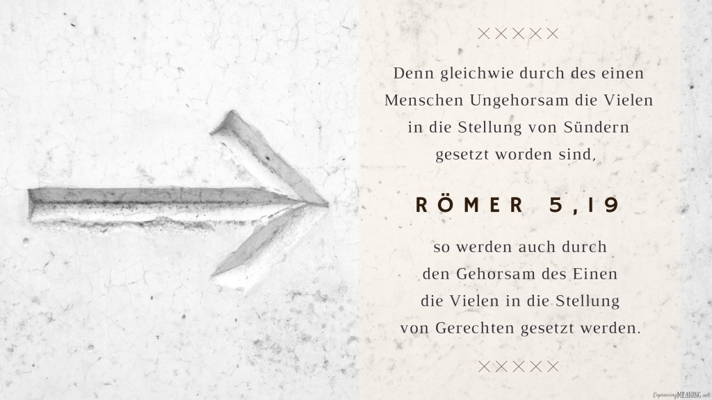 Romans 5:19