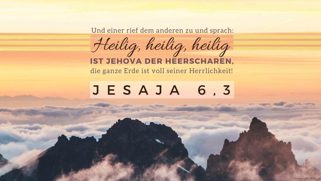 Isaiah 6:3