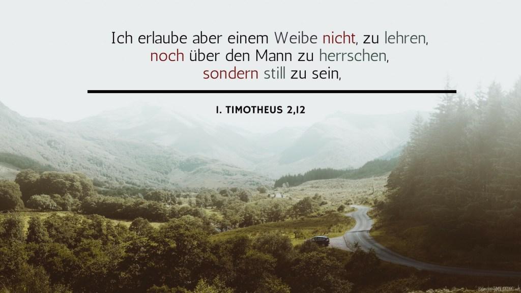 1 Timothy 2:12