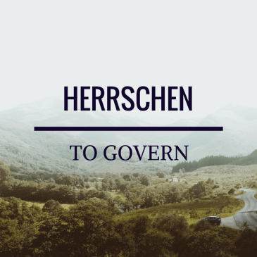 To Govern – 1 Timothy 2:12
