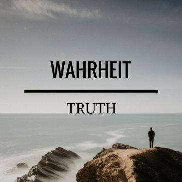 Truth – John 14:6