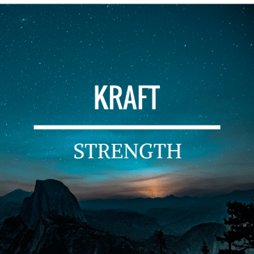 Strength – 2 Corinthians 12:9