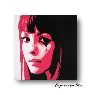 Acrylique sur toile 20/20 cm