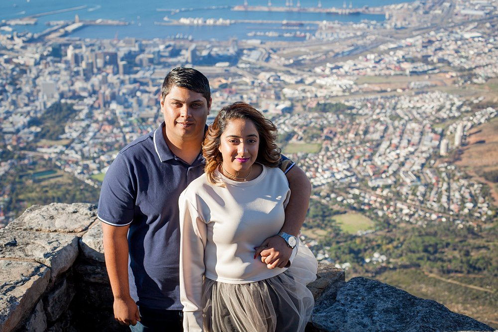 Table Mountain Proposal Shoot Expressions Photography 001