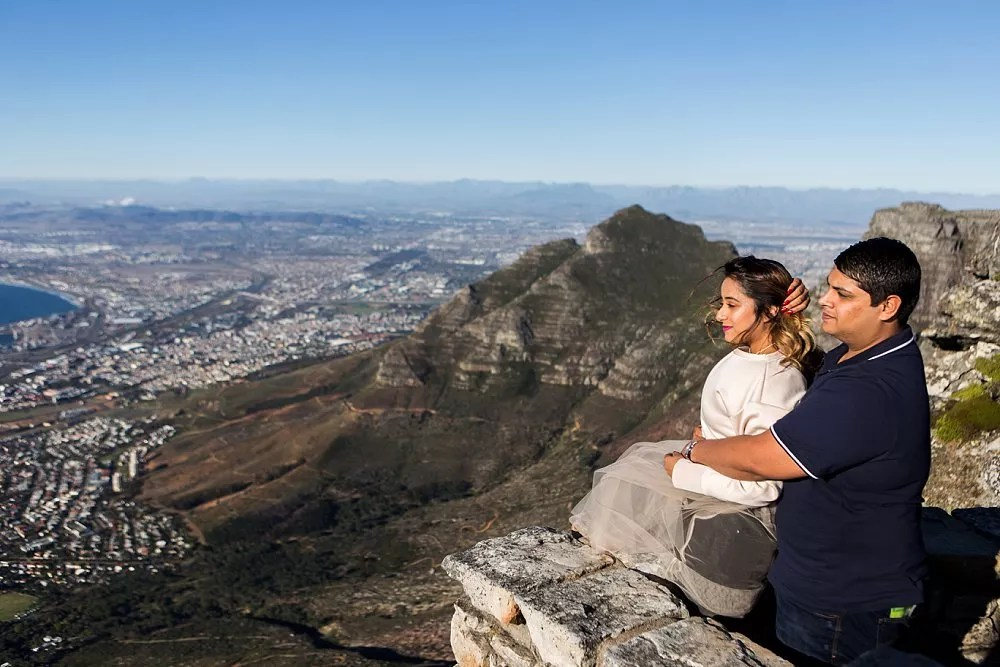 Table Mountain Proposal Shoot Expressions Photography 004