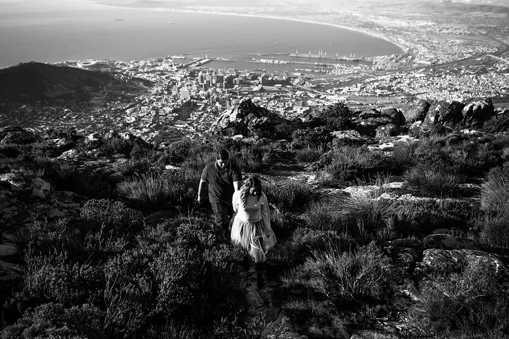 Table Mountain Proposal Shoot Expressions Photography 011