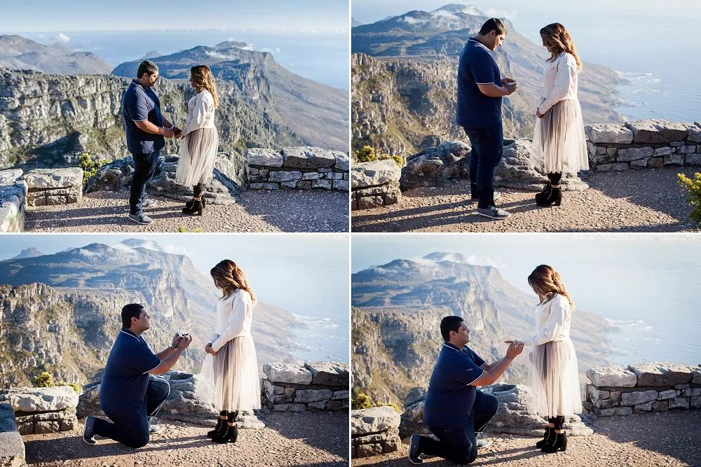 Table Mountain Proposal Shoot Expressions Photography 014