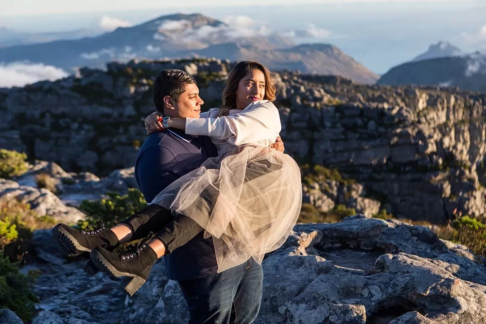 Table Mountain Proposal Shoot Expressions Photography 044