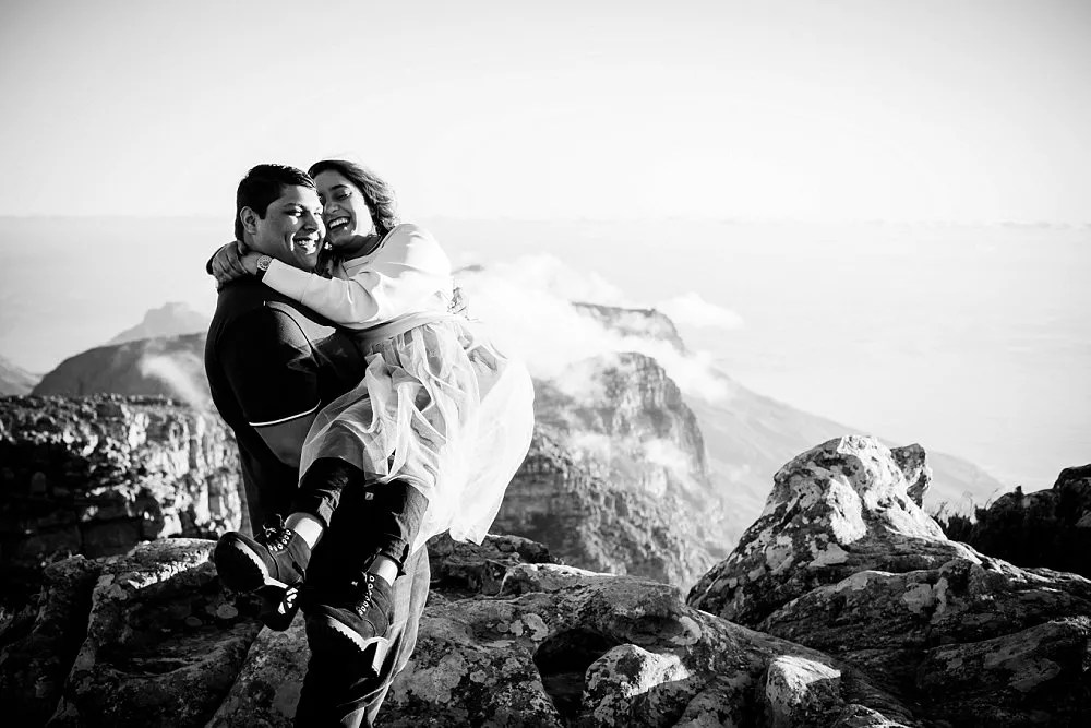 Table Mountain Proposal Shoot Expressions Photography 045