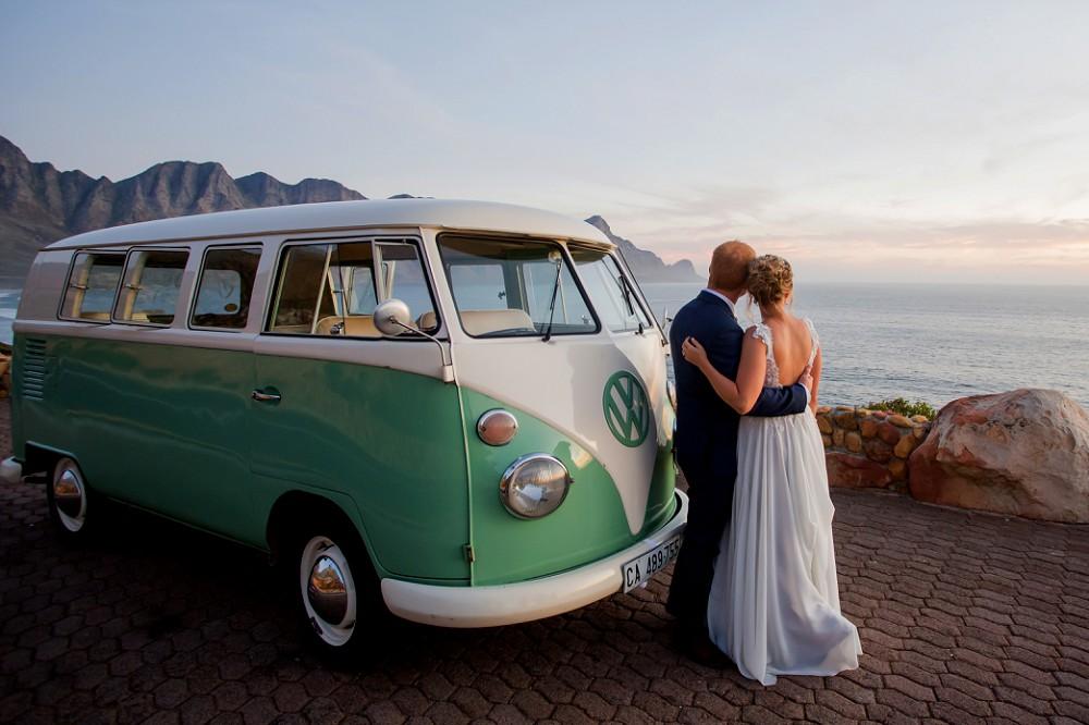 VW Kombi Grille Shack Wedding
