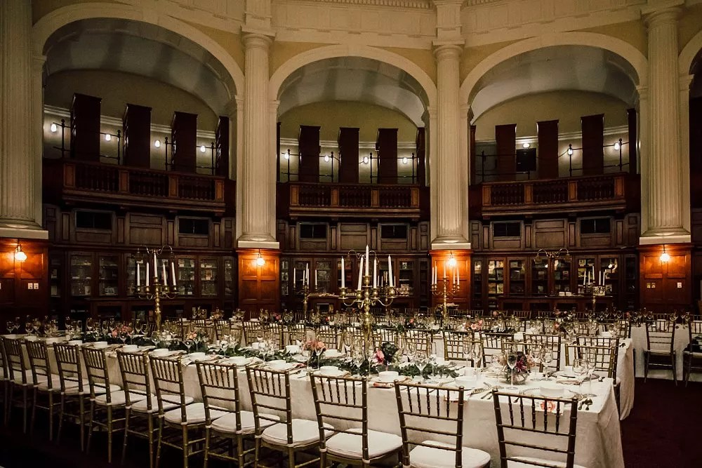 Centre for the book wedding venues