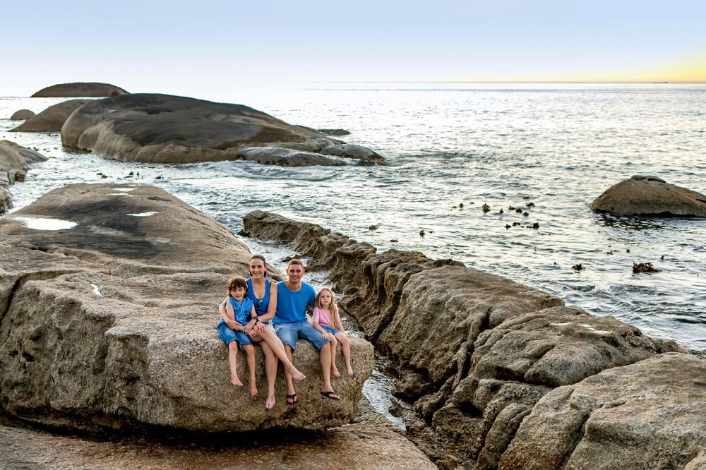 Cape Town family photo shoot Bakoven Beach