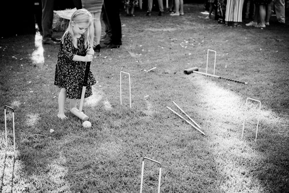 Getting married in Cape Town canape hour lawn games