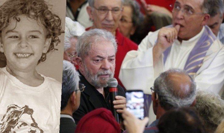 Resultado de imagem para Lula usa morte do neto para discurso e politicagem