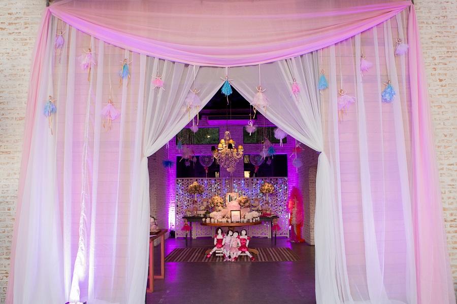 expressogourmet festa bailarina entrada Festa Infantil com Tema Bailarina