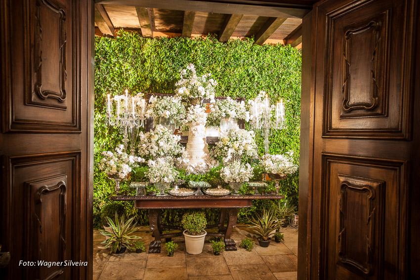 expressogourmet decoracao casamento classico mesa bolo Decoração de Casamento Clássica na Casa da Fazenda