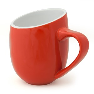 Offero Red Gloss 20oz Ceramic Cup