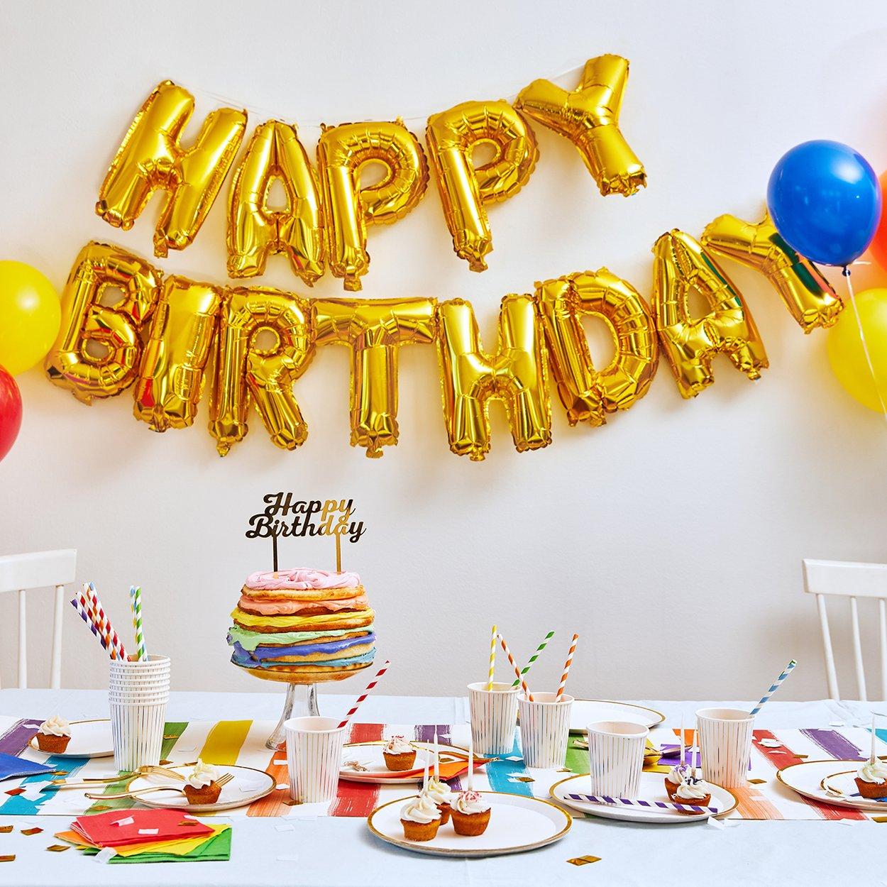 Balloon Happy Birthday Express Saga