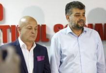 Marcel Ciolacu și Petre Emanoil Neagu