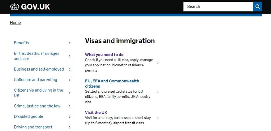 check uk visa status