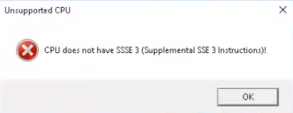 Apex Legends - Unsupported CPU: Fix CPU Does Not Have SSSE3